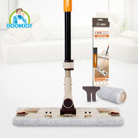 Houseware 2016 factory products dry and wet magic 360 swivel floor cleaning flat mop