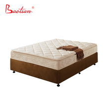 Wholesale reasonable price bonnell mattress with one side thick pillow top for bedroom furniture