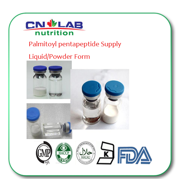 Wholesale Cosmetic Peptide Palmitoyl Pentapeptide Powder For Anti-wrinkle Cosmetic