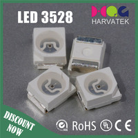 Free samples 3.5*2.8*1.9mm blue yellow orange red 3528 smd led specifications