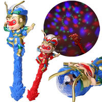 Cartoon Stick Rotating Flash Hot Selling Toys