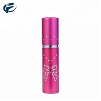 Hot sale 8ml china factory aluminum refillable perfume atomizer