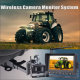 DVR Wireless back up camera monitor system with recording that mounts to Tractor, Combine,Cultivator,Plough or Trailer, Mining