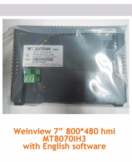 Hot sell DOP-B07S411 800*480 7 inch delta plc hmi panel
