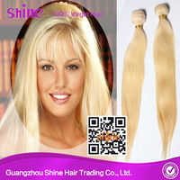 Sells Eurasian Blonde Virgin Wholesale Human Hair