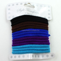 Fashion hair elastic band/decorative elastic band/transparent elastic bands