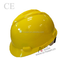industrial full brim hard hat safety helmet with chin strap