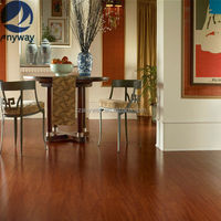 Top popular easy living laminate flooring from china for indoor use