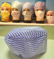 disposable colorful surgical cap