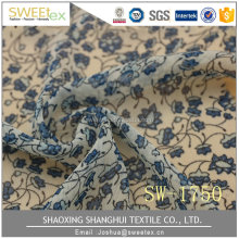 Chinese supplier wholesales 75D*75D 70 GSM weed printed fabric
