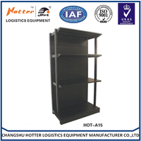 Supermarket&store display equipment/metal gondola storage shelf&rack system