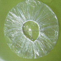 disposable polyethylene pe bathing head cover