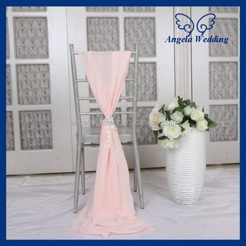 SH003M Nice elegant fancy wedding chiffon pink chair sash with lace bow  sc 1 st  Suzhou Angela Wedding Co. Ltd. - Alibaba & SH003M Nice elegant fancy wedding chiffon pink chair sash with lace ...