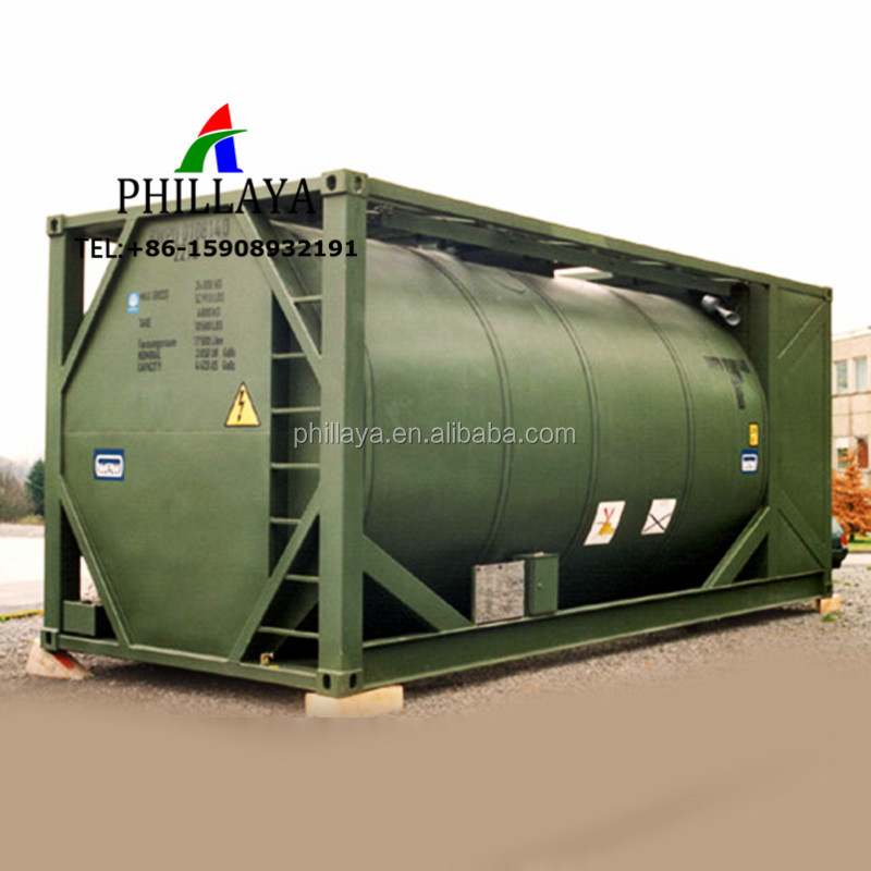 20ft 40ft ISO Standard Liquid Storage Fuel Tank <strong>Container</strong>