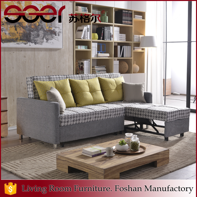 Foshan manufacturer sales fabric sofa 3 seater removable back sofa