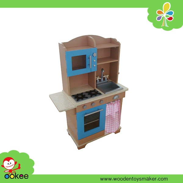 Pretend play set kids kitchen cabinet model kitchen set for Kitchen set expo
