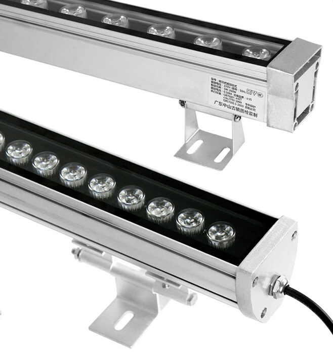 IP65 Outdoor 18w RGB DMX led wall washer light