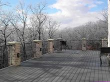 exterior standard ornamental and commercial iron fences