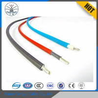 Cable Manufacturer TUV certified uv resistant 4mm2 6mm2 10mm2 Photovoltaic pv solar cable for solar panel power station