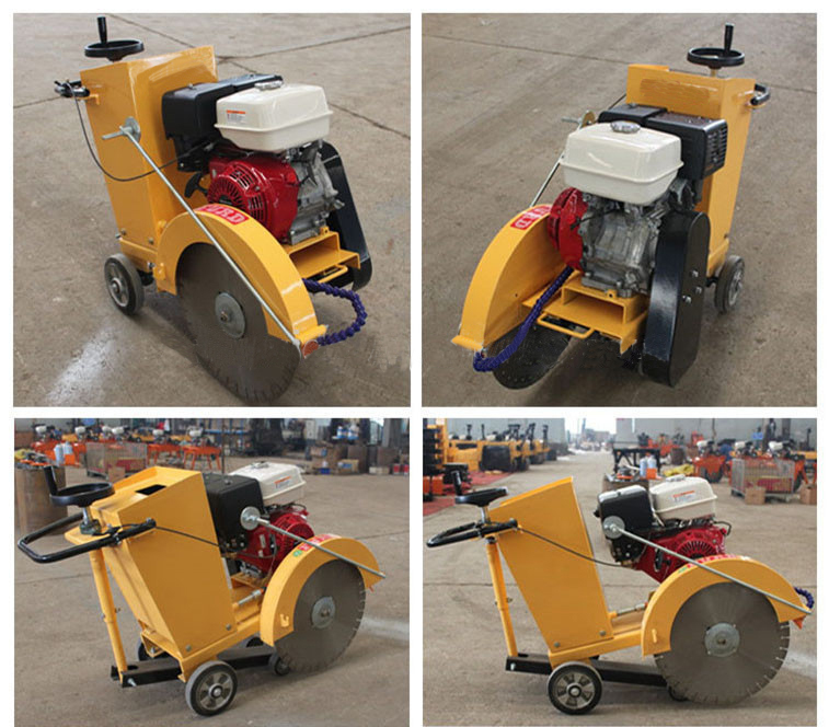 reinforced road Concrete pile cutting machine honda engine road cutter, concrete cutting machine