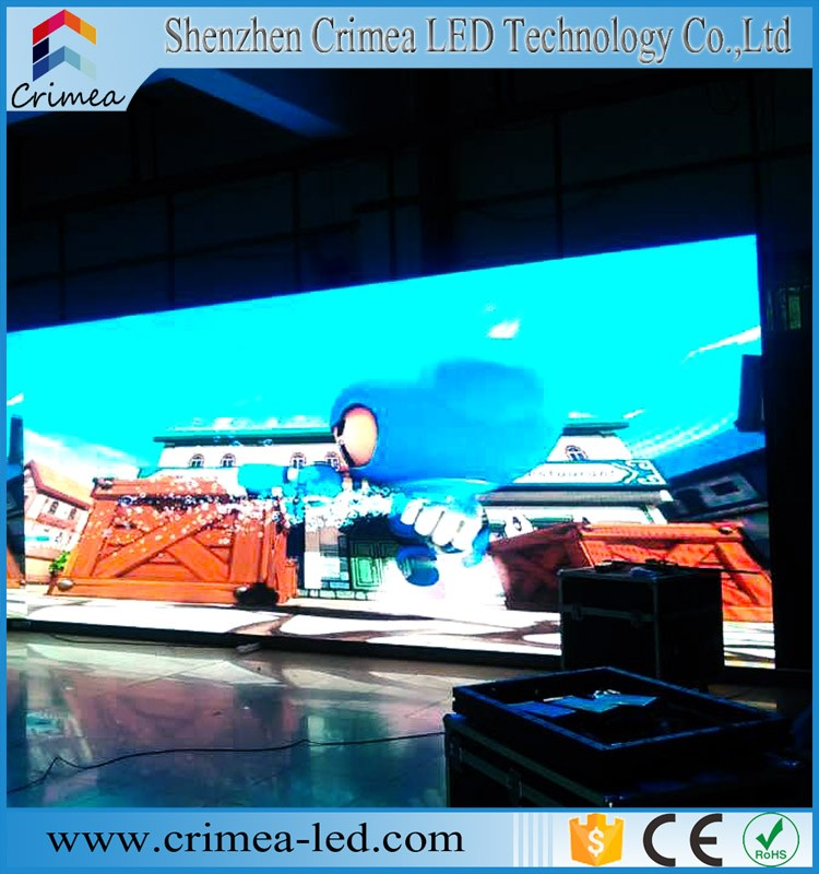 2016 new product 4.8mm led outdoor video wall screen for indoor and outdoor building decoration