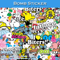 HD-010 Bubble Free Car Sticker Bomb Film Type And Body Stickers Use Car Wrapping Film