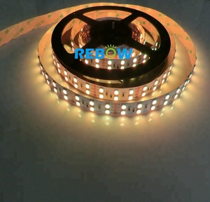 LED Strip 5050 RGBWW DC24v/12v 60leds/m RGB+Warm White Flexible LED Tape Ribbon Light