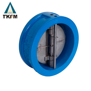 TKFM 4 inch cast iron tilting disc low pressure check valve body price