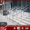 Decorative teak wood handrails/outdoor free standing handrails