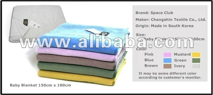baby Blankets 100% Polyester - Original Made-in Korea