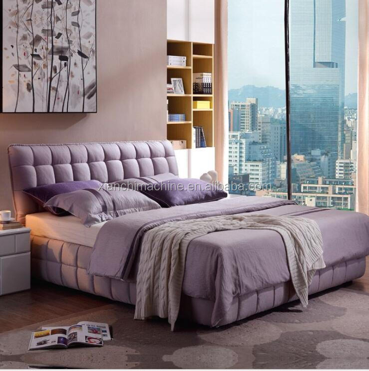 2016 new arrival modern designed storags beds from china bedroom furniture sets fabric bed king size