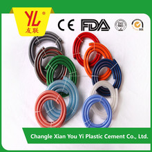 Colorful flexible PVC garden hose, water hose with nozzle set