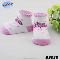 Lovely New Born Baby pink socks