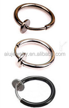 316L stainless steel fake nose ring