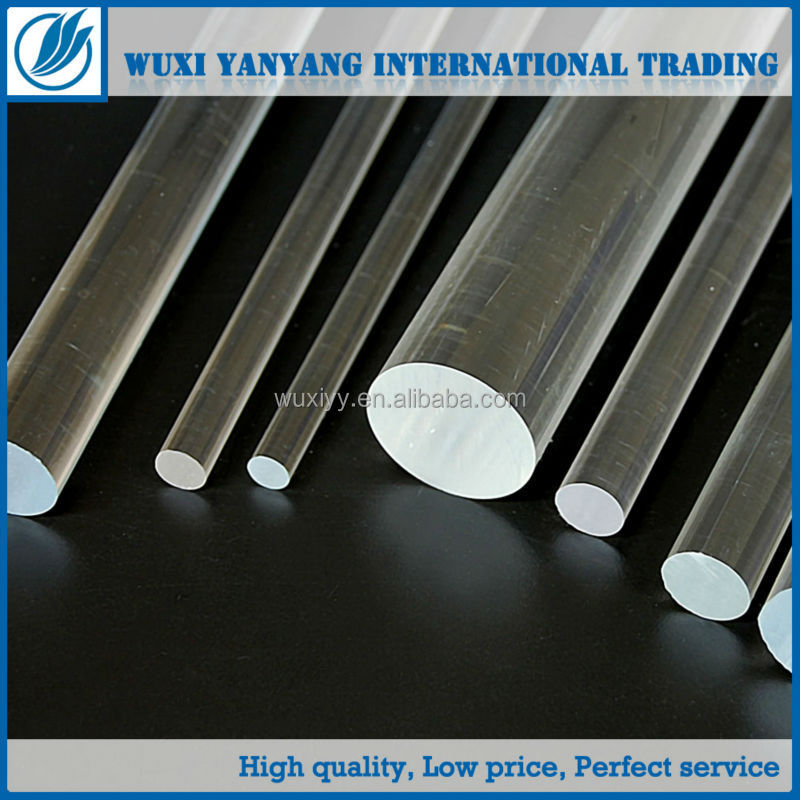 acrylic clear extrusion transparent hollow rod