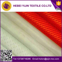 100% polyester light weight colorful mesh fabric