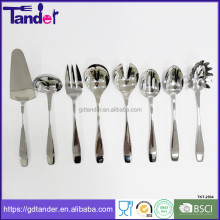 New design Stainless steel soup ladles kitchen utensils and their uses in different sizes