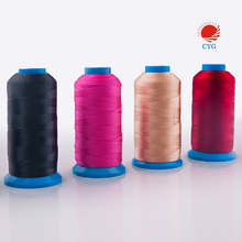 100% nylon bonded thread for leather sewing