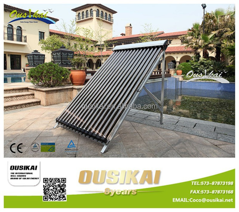 OEM Provide Manifold Collector/Solar Concentrator/Solar Thermal Collector(10-30 heat pipes)