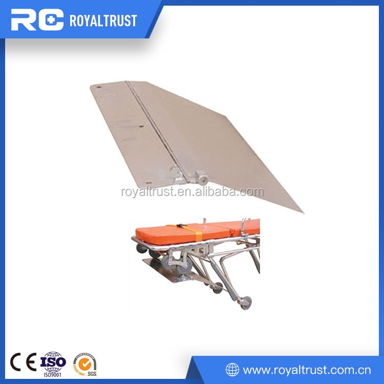 Stainless steel ambulance stretcher base for ambulance car