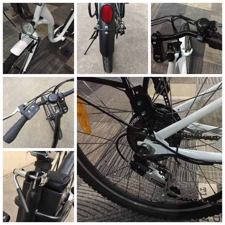 Cheap Electric Bike with 24v /36V 12 AH lead-acid battery