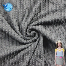 Yarn Dyed Cotton Polyester Double-side Jacquard Seersucker Knitting Fabric