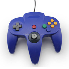 Retail Packaging Blue Color USB Game Wired Controller Joypad Joystick Gamepad For N64 Game System