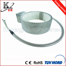 ceramic heater band for Rubber extruder machine tube tire