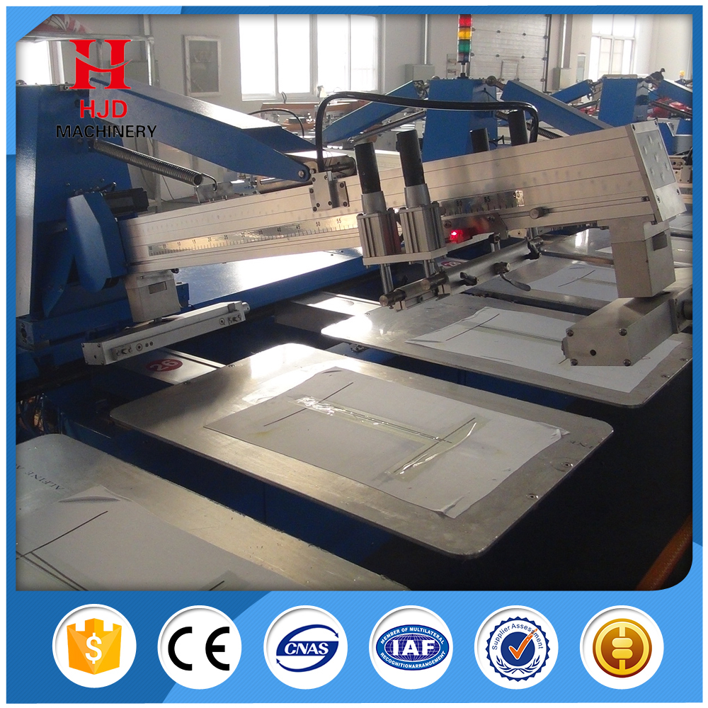 Durable clothes 16 colors screen printing machine for sale for T shirt screen printers for sale