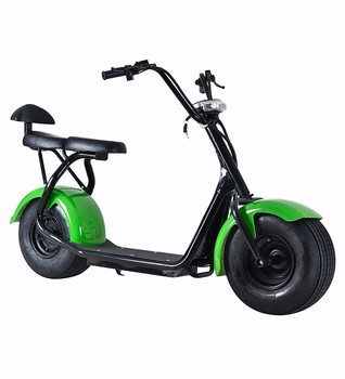 2 seats citycoco electric scooter 60V 1000W E- scooter electric drift car mobility scooter
