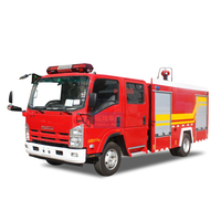 Japan 700P 4x2 Diesel 5000L Water Tanker Airport Fire Fighting Truck