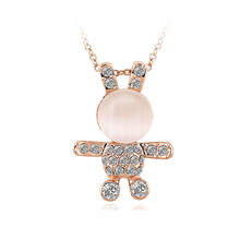 OUXI cheap wholesale fashion rabbit handmade jewelry dropship