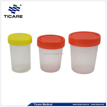 laboratory 120ml disposable plastic urine cup