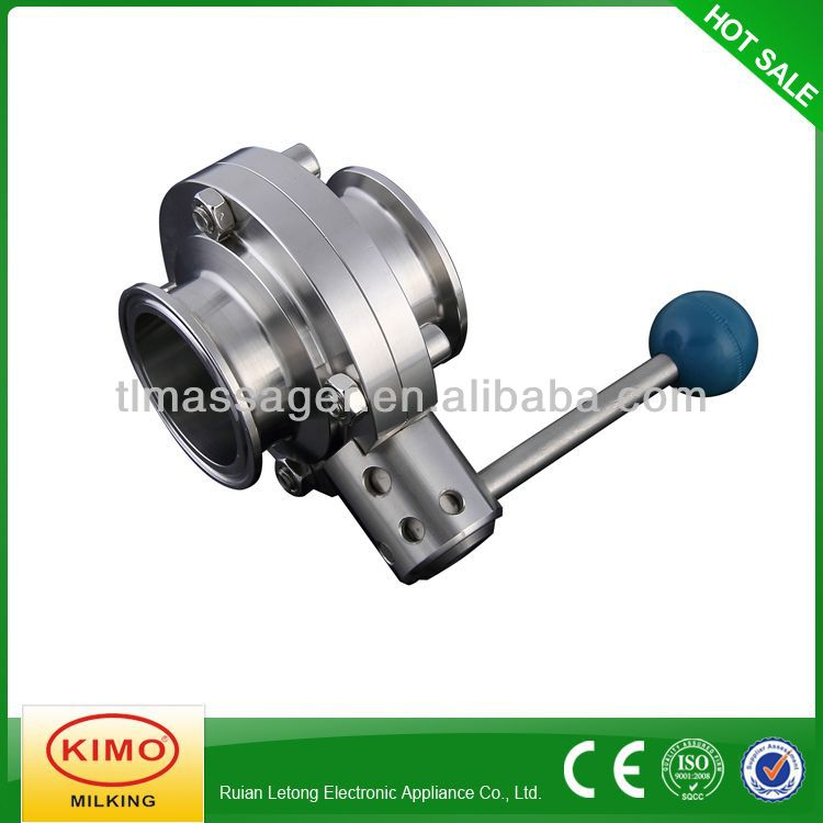 Professional Manufacturer Of Butterfly Valve With Positioner,Milk Valve
